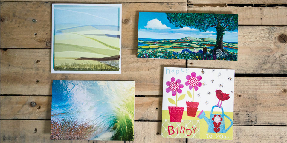 Greetings Card Printing, Art Cards Printing, Helston, Cornwall